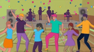 Dance and party fundraisers