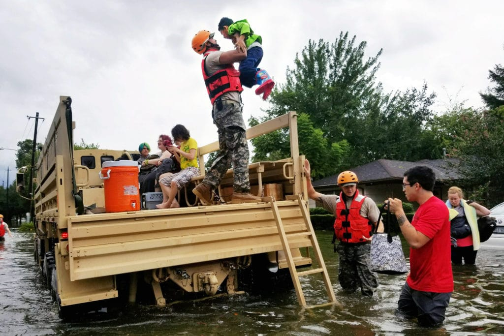 Let's help hurricane harvey victims