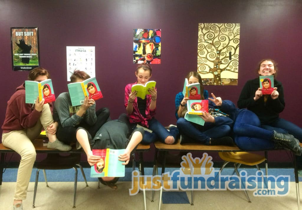Book club raising money for books