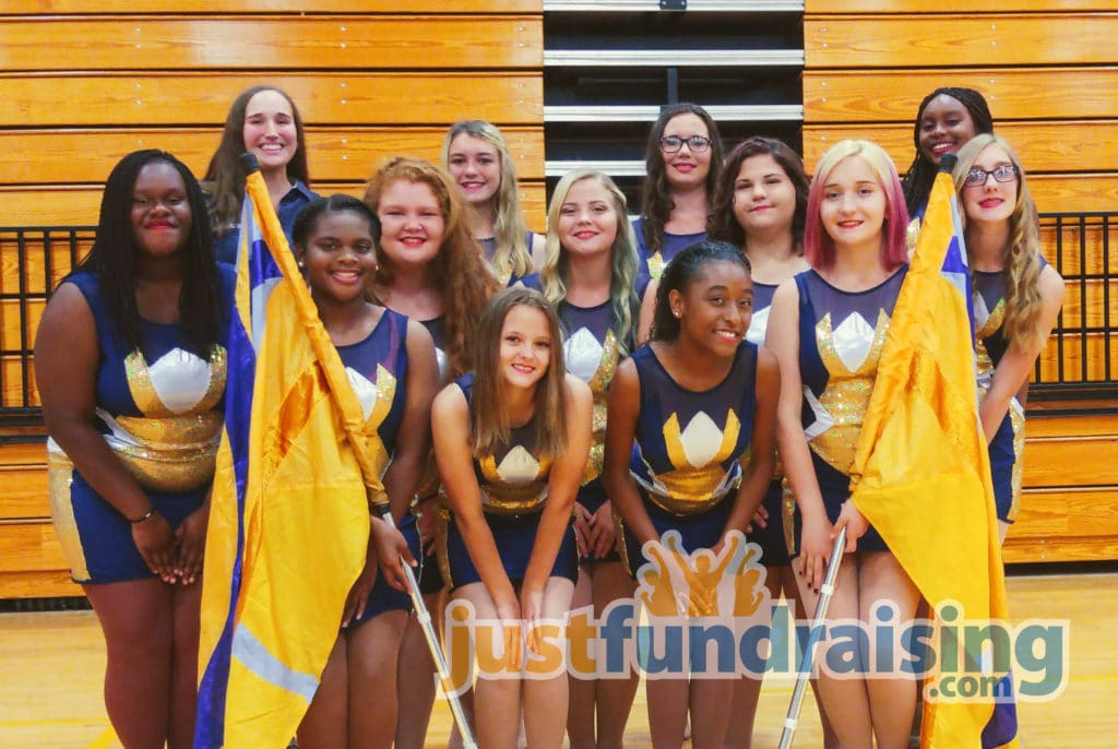 Marching band fundraising group