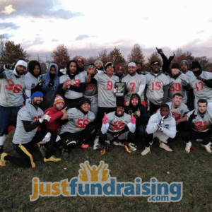 adrenaline rush 9man football team players