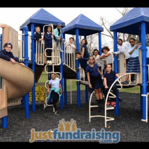 bethany school children in playground