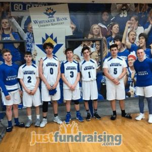 kentucky knighst basketball team in the court