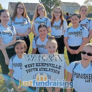 punishers softball team