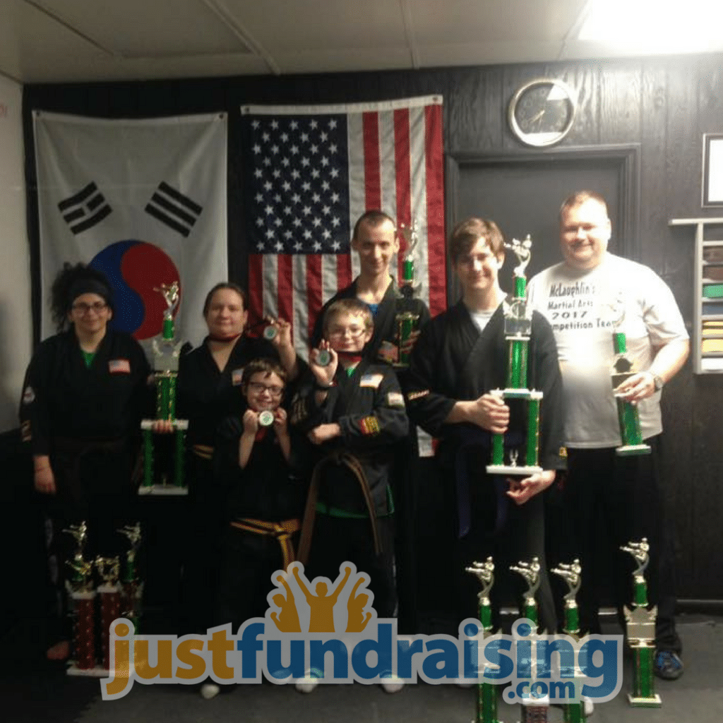 mclaughlins martial arts team
