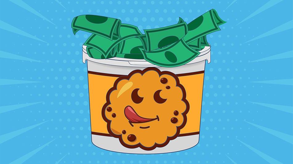 High profit cookie dough fundraisers