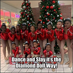 Diamond Dolls dance group