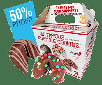 Fortune cookie fundraiser