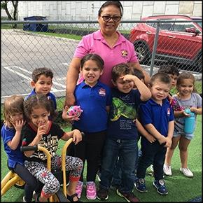 Learning center playground fundraiser