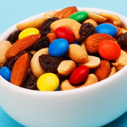 Bowl of snacks