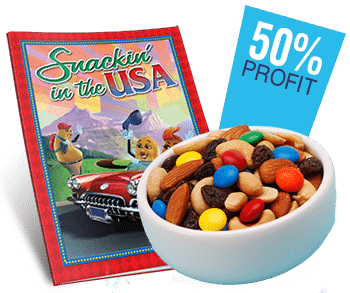 Snack fundraising program