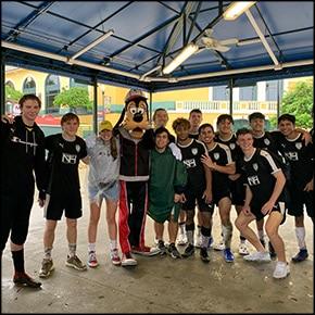 Soccer team fundraiser