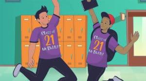 Class of 2021 t-shirt fundraiser