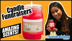 Why we love candle fundraisers