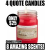 Quote Candles Sample