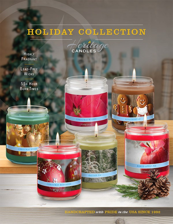 Christmas Fundraiser Catalog.Holiday Art Collections Candle Fundraiser