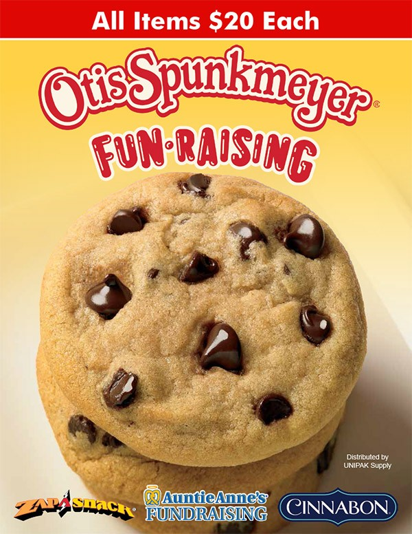 Otis Spunkmeyer 24 Item Fundraising Program