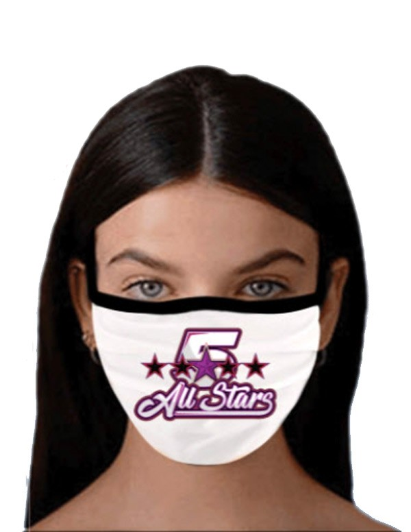 Custom face mask fundraiser program