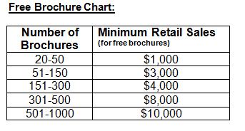 Free Brochure Chart