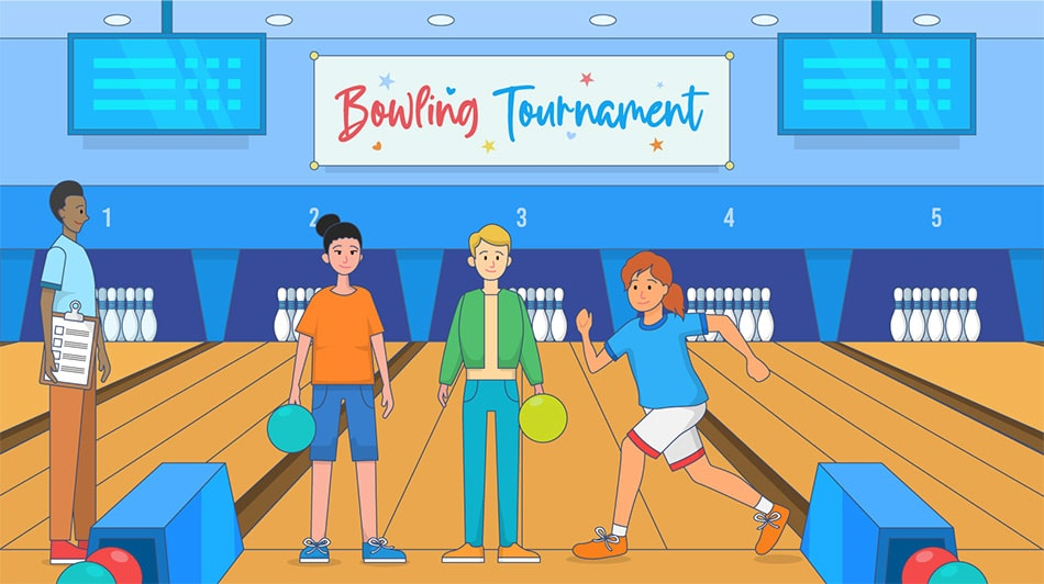 Bowling tournament DIY fundraiser