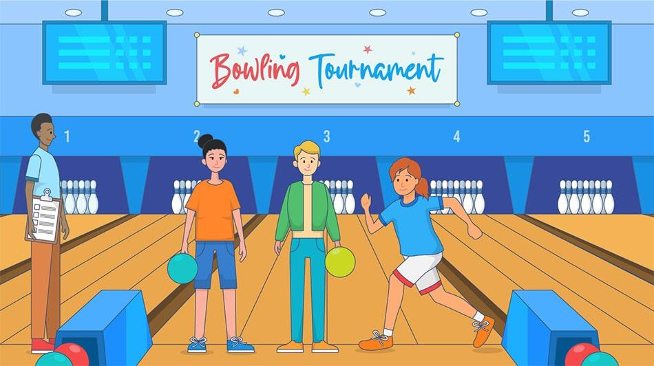 Bowling tournament DIY fundraiser