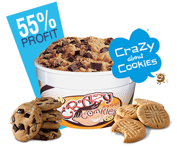 crazy about cookies choco chip cookie dough