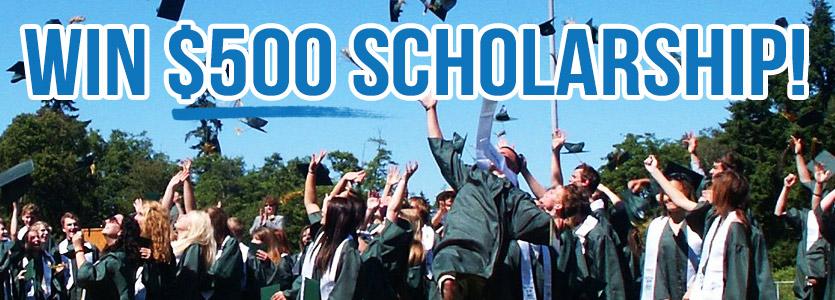 Win a $500 scholarship